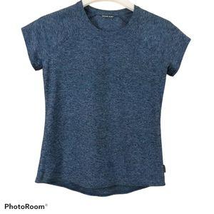 Oiselle Lux T-shirt Curfew/Smoke sz 4